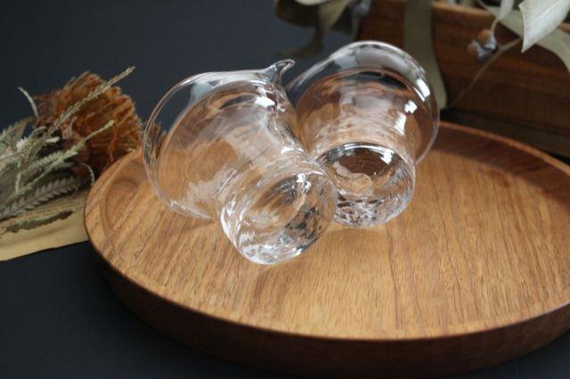 ライト 片口 S ガラス 8823/glass work 沖澤康平 画像5