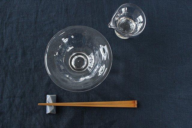 ライト 片口 S ガラス 8823/glass work 沖澤康平 画像6