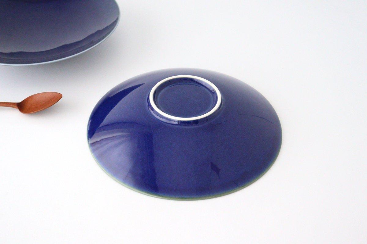 美濃焼 AO 9寸皿 磁器  画像2