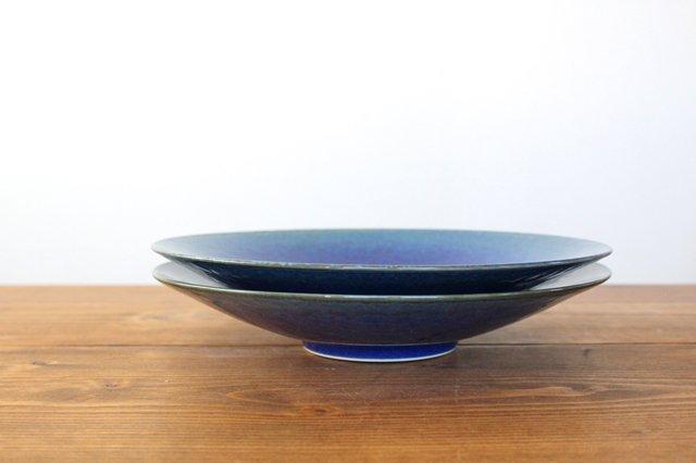 美濃焼 AO 9寸皿 磁器  画像3
