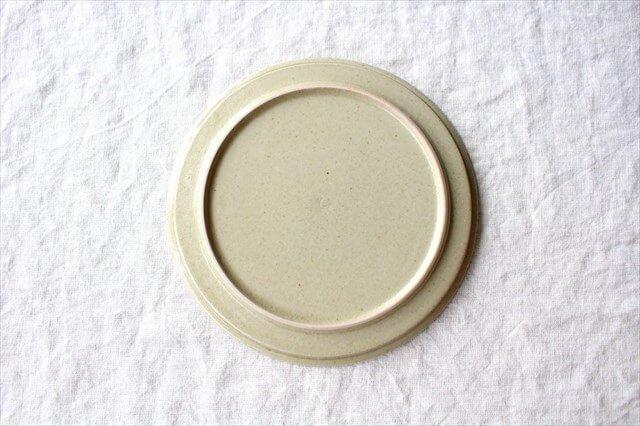 6寸リム皿 黄瀬戸釉OF 半磁器 こいずみみゆき 画像4