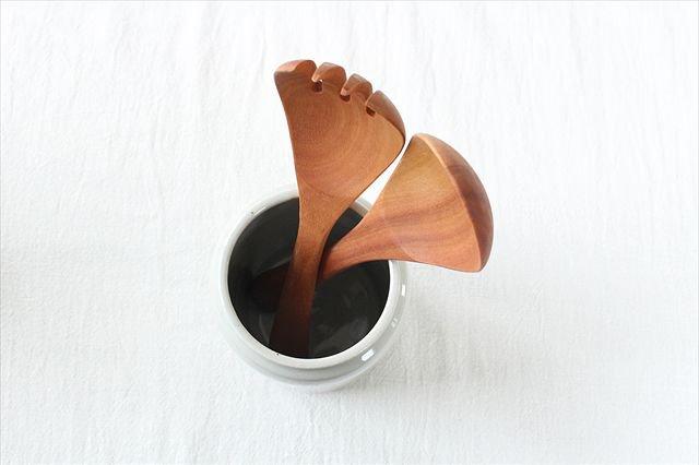 カトラリースタンド 白 陶器 こいずみみゆき 画像5