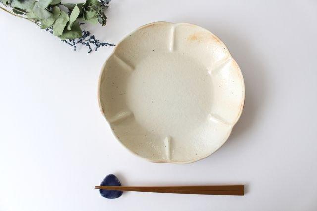 鉄散 輪花浅鉢 大 陶器 古谷製陶所 画像6