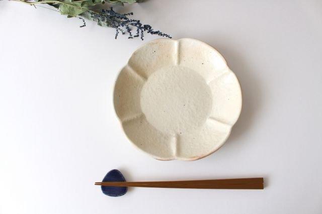 鉄散 輪花浅鉢  小 陶器 古谷製陶所 画像2