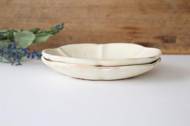 鉄散 輪花浅鉢  小 陶器 古谷製陶所 画像3