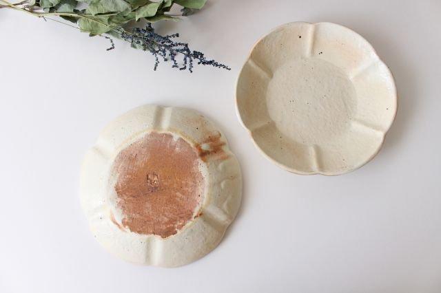 鉄散 輪花浅鉢  小 陶器 古谷製陶所 画像5