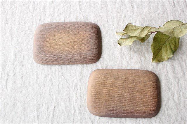 角皿 小 格子 陶器 一翠窯 画像6