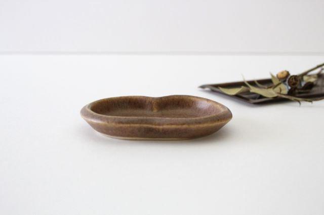 豆豆皿 茶 陶器 古川まみ 画像2