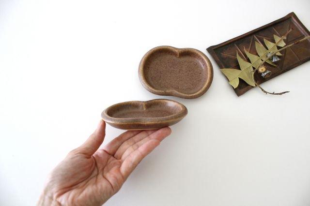 豆豆皿 茶 陶器 古川まみ 画像5