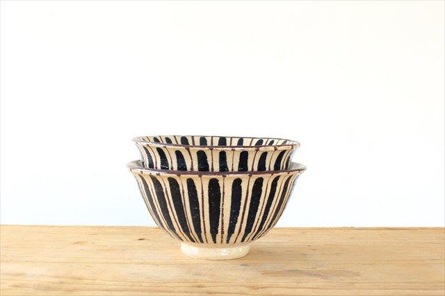 飯碗 麦藁手 青 陶器 小春花窯 画像6