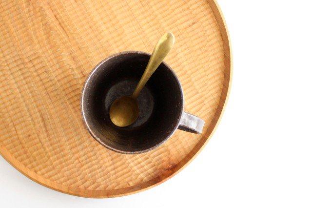 ブロックマグ 茶 陶器 伊藤豊 画像2