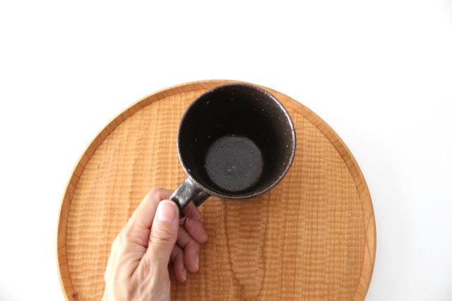 ブロックマグ 茶 陶器 伊藤豊 画像6