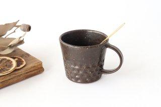 ブロックマグ 茶 陶器 伊藤豊商品画像