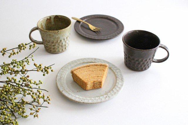 フェザーコーム 角皿 トリコ 【A】 陶器 佐川義乱 画像3