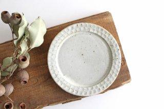 ブロックプレート 粉引 陶器 伊藤豊商品画像