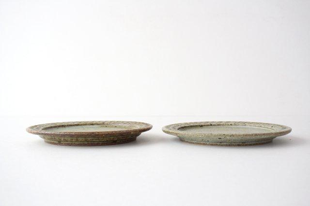 ブロックプレート もえぎ  陶器 伊藤豊 画像3