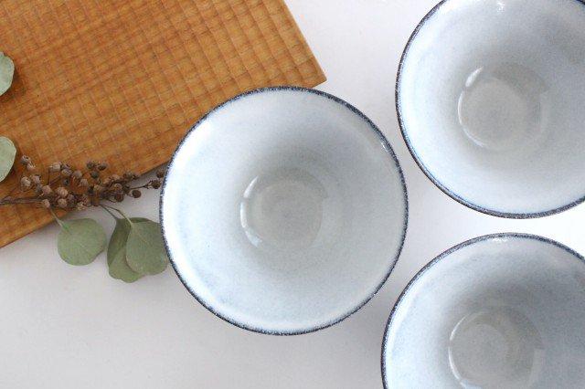 美濃焼 スパイラル平茶碗 ホワイト 陶器  画像4