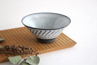 美濃焼 スパイラル平茶碗 ホワイト 陶器 商品画像