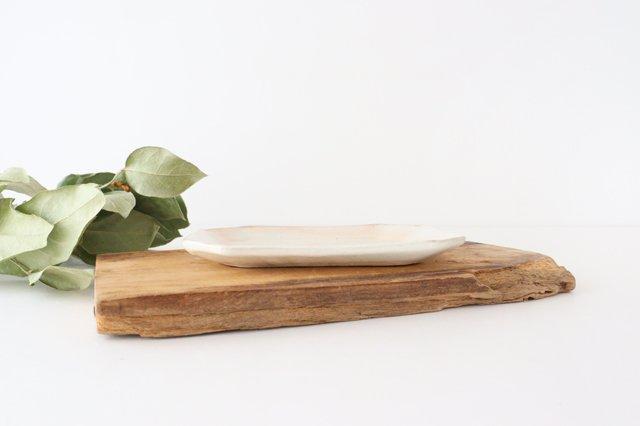 鉄散 八角ケーキ皿 陶器 古谷製陶所 画像6