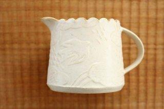 ピッチャー ふちギザ 陶器 前田葉子 商品画像