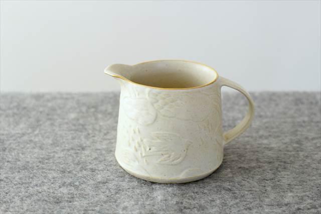 ピッチャー ふちフラット 陶器 前田葉子  画像3