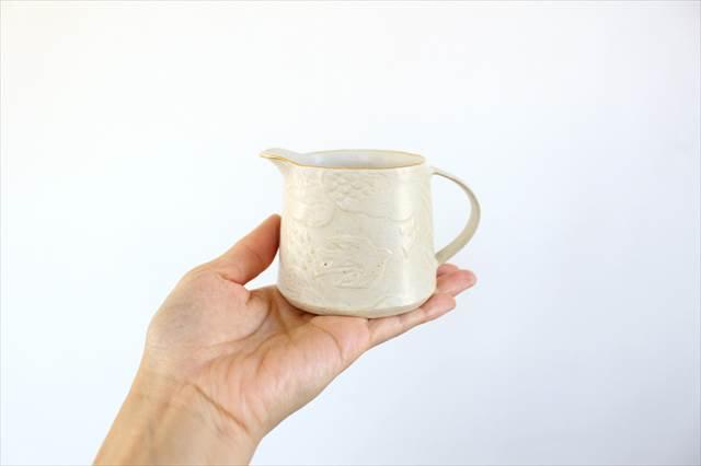 ピッチャー ふちフラット 陶器 前田葉子  画像5