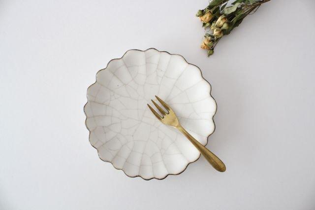 5寸皿 ハナ カンニュウ 陶器 たくまポタリー