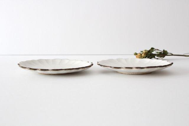 5寸皿 ハナ カンニュウ 陶器 たくまポタリー 画像2
