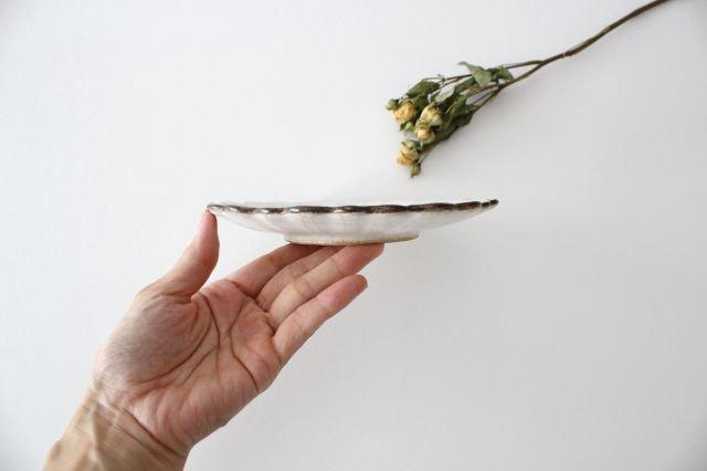 5寸皿 ハナ カンニュウ 陶器 たくまポタリー 画像4