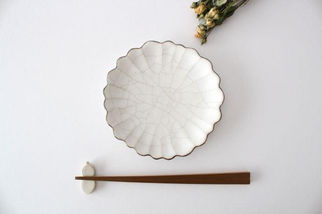 5寸皿 ハナ カンニュウ 陶器 たくまポタリー 画像5