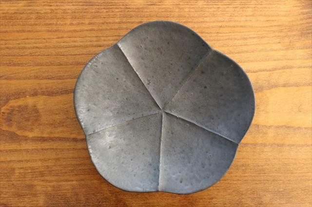 鉄釉梅皿 陶器 額賀円也  画像5