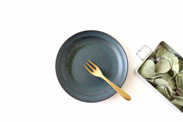 角皿 大 格子 陶器 一翠窯 画像3