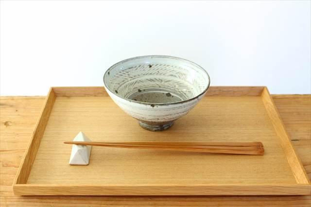 彫三島飯碗 【A】 陶器 額賀円也  画像4