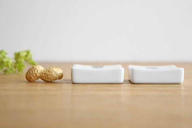 白山陶器 かのん 箸置き 磁器 波佐見焼 画像3