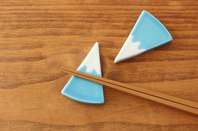 有田焼 富士山 箸置き 磁器