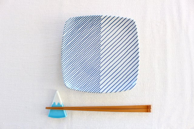 有田焼 富士山 箸置き 磁器 画像2