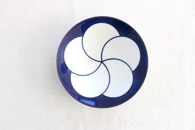 白山陶器 ねじり梅 5寸和皿 磁器 波佐見焼