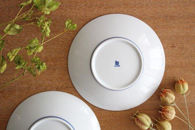 白山陶器 ねじり梅 5寸和皿 磁器 波佐見焼 画像5