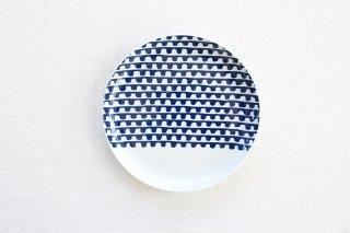 波佐見焼 シュエット プレート小 プチプチ 磁器商品画像