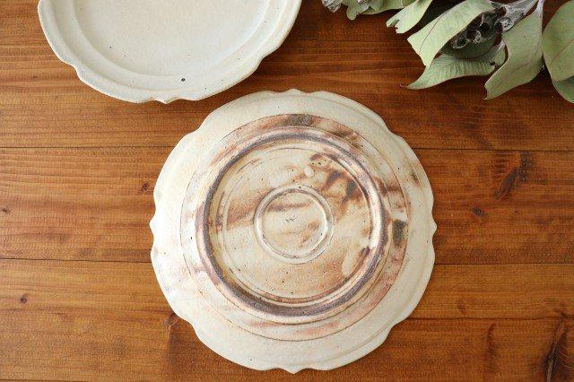 鉄散 7寸彫刻皿 陶器 古谷製陶所 画像5