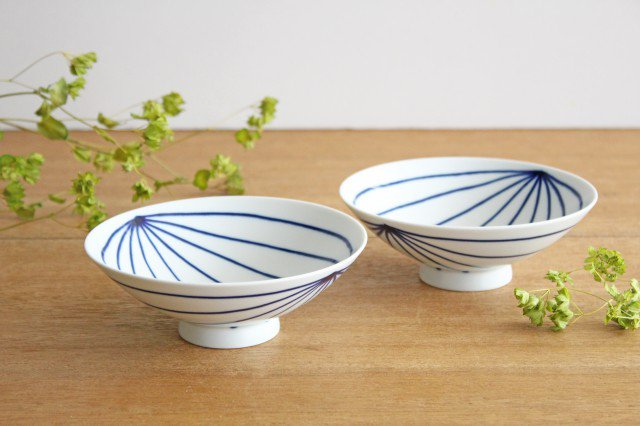 白山陶器 平茶碗 ST-15 磁器 波佐見焼