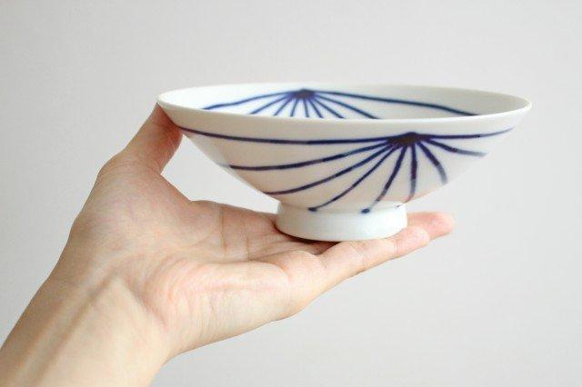 白山陶器 平茶碗 ST-15 磁器 波佐見焼 画像2