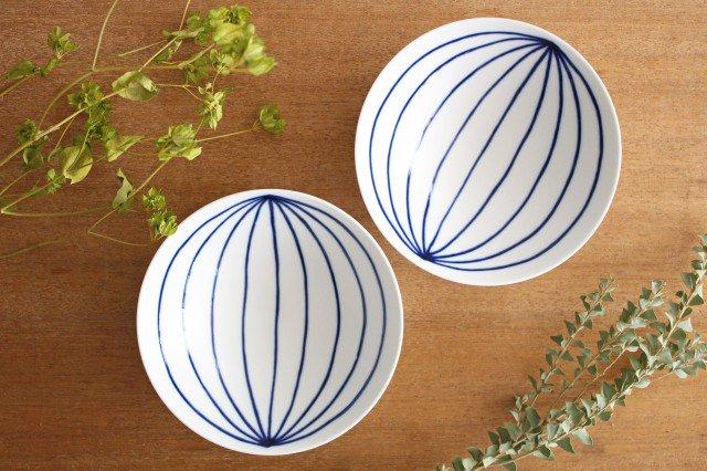 白山陶器 平茶碗 ST-15 磁器 波佐見焼 画像5