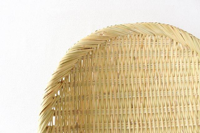 盆ざる 尺 岩手の竹工芸 画像2