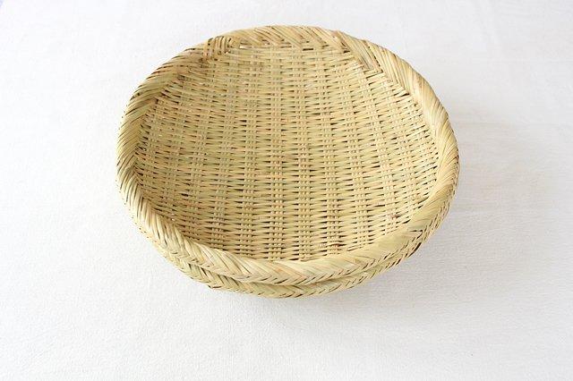 盆ざる 尺 岩手の竹工芸 画像3