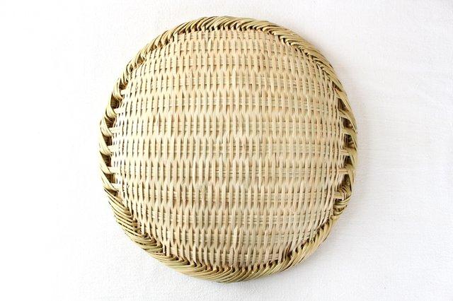 盆ざる 尺 岩手の竹工芸 画像4