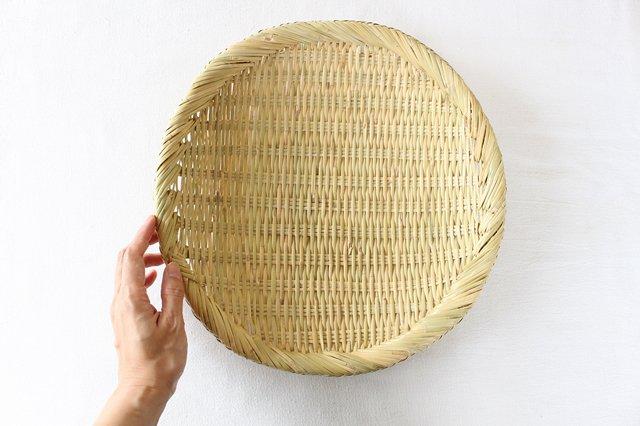 盆ざる 尺 岩手の竹工芸 画像6