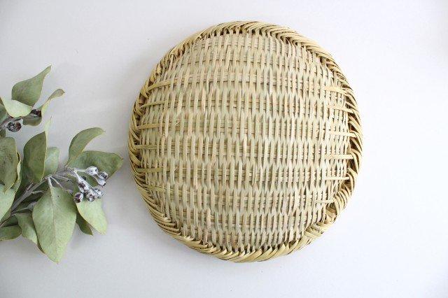 盆ざる 8寸 岩手の竹工芸 画像3