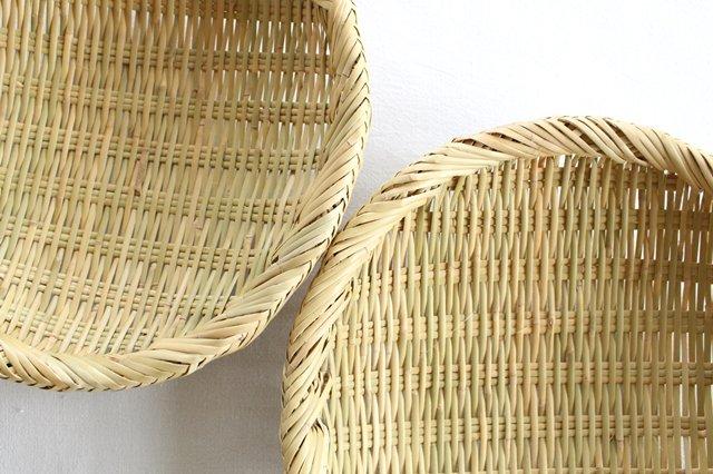 盆ざる 8寸 岩手の竹工芸 画像4