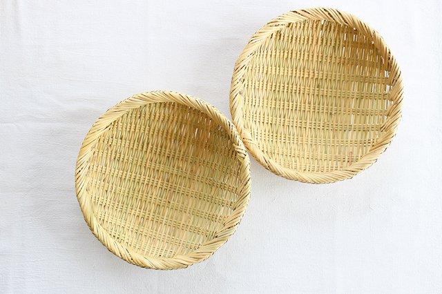 盆ざる 8寸 岩手の竹工芸 画像6
